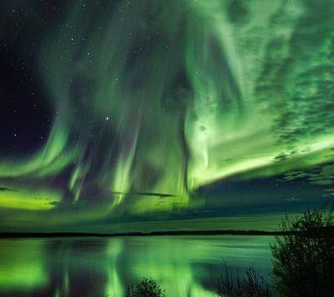 ظاهرة الشفق القطبي nordlys